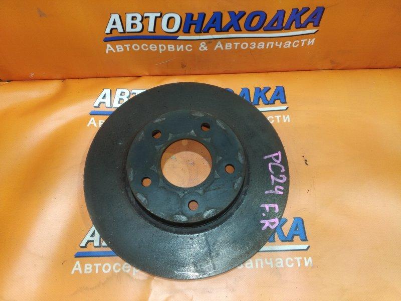 Диск тормозной Nissan Serena TC24 передний RN1584V Ф282, T27.5, 5*114.3, SERENA PC24,