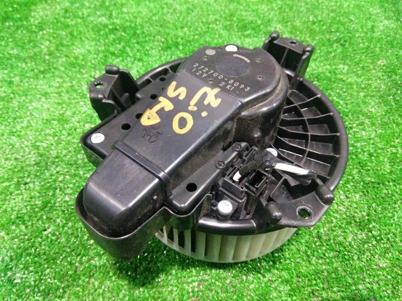 Мотор печки Toyota Mark X Zio ANA10 2AZ-FE 2007 77020-22020 с реостатом