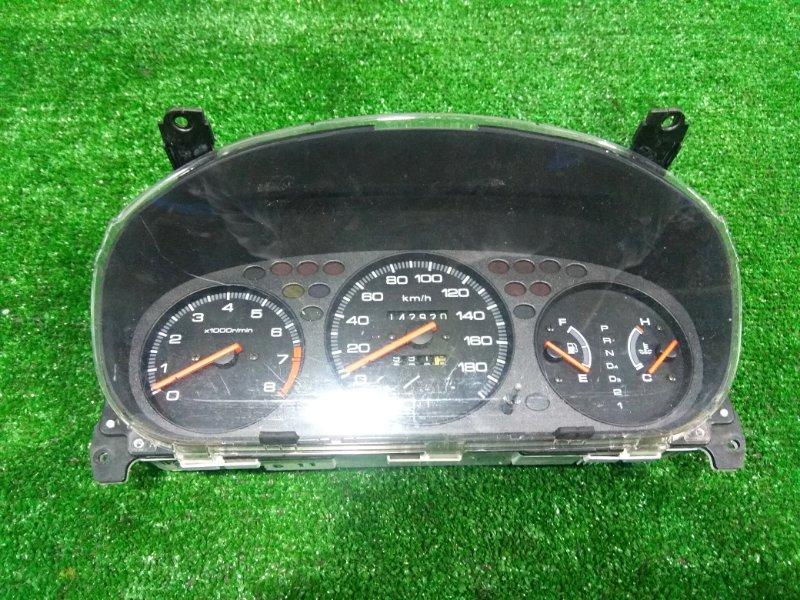 Щиток приборов Honda Orthia EL3 B20B 1996 пробег 143 т.км. Под АКПП. без АБС и SRS. С фишками