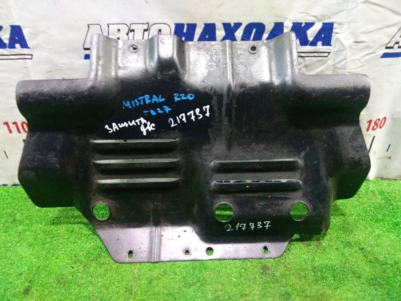 Защита двс Nissan Mistral R20 TD27BT 1994 Металлическая