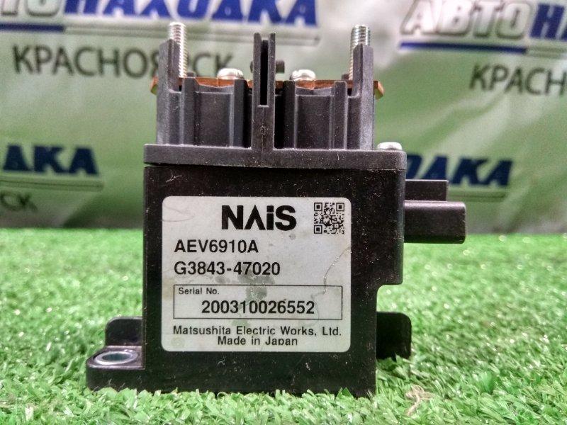 Реле Toyota Prius NHW20 1NZ-FXE 2003 G3843-47020 Реле высоковольтной батареи