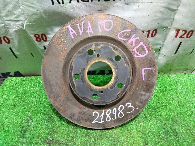 Диск тормозной Toyota Mark X Zio ANA10 2AZ-FE 2007 передний 43512-42050, 4351202250, 4351206140, 43512-06100 передний 296х28