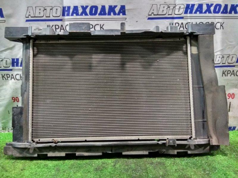 Радиатор двигателя Toyota Mark X Zio ANA10 2AZ-FE 2007 100222-0902, 16400-28650, 16400-28651, 16711-28400 с диффузором и