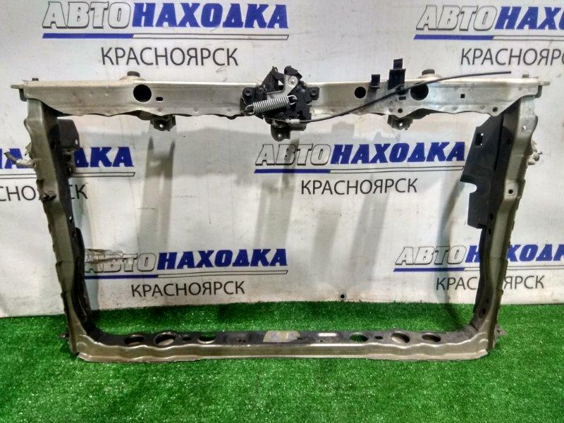 Рамка радиатора Toyota Mark X Zio ANA10 2AZ-FE 2007 передняя 53201-72901 с замком капота