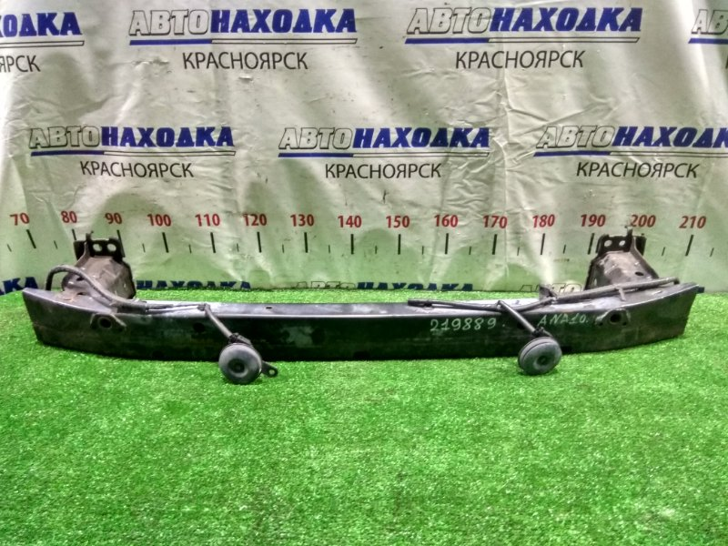 Усилитель бампера Toyota Mark X Zio ANA10 2AZ-FE 2007 передний 52021-72010 передний швеллер