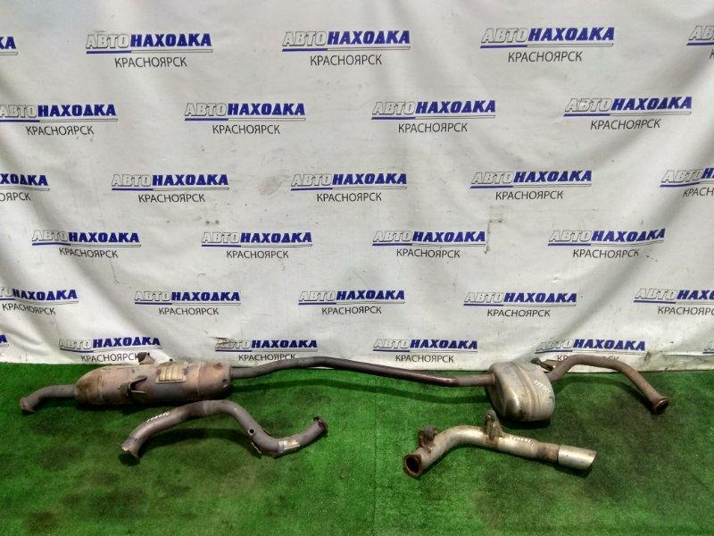 Глушитель Toyota Mark X Zio ANA10 2AZ-FE 2007 17420-28840, 17410-28610, 17430-28850 вся трасса в сборе (приемная