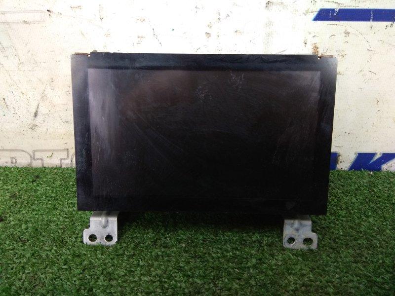 Телевизор в салон Nissan Murano PZ50 VQ35DE 2004 DP7W-1030J штатный монитор с центральной консоли,