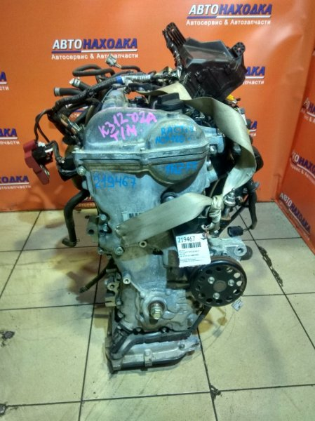 Двигатель Toyota Vitz NCP131 1NZ-FE 09.2015 E965708 EGR, 19T.KM, БЕЗ НАВЕСНОГО, RACTIS NCP120-2074120