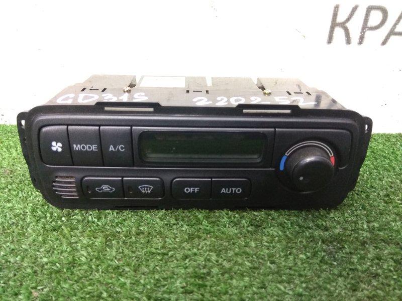 Климат-контроль Suzuki Cultus GD31S G16A 1996 95611-64G20, 95610-64G21 электронный, с ж/к дисплеем, 95611-64G20,