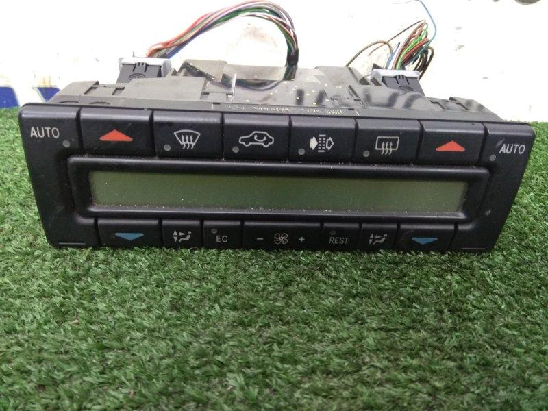 Климат-контроль Mercedes-Benz E320 210.265 M112 E32 1995 A2108802285 кнопочный, с ж/к дисплеем, 2-х зонный