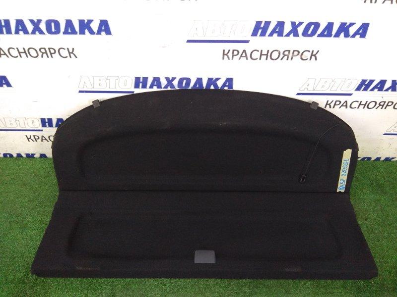 Полка багажника Mazda Axela BK5P ZY-VE 2003 задняя жесткая полка в багажник, черная