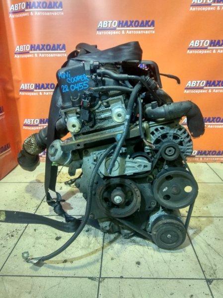 Двигатель Mini Cooper R53 W10B16AB D748S140 В СБОРЕ, КАТУШКА СЛОМАНА,