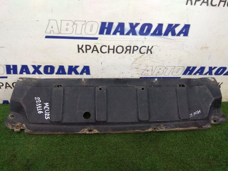Защита двс Toyota Kluger MCU25W 1MZ-FE 2000 передняя 51441-48020 передняя, незначительные надрывы