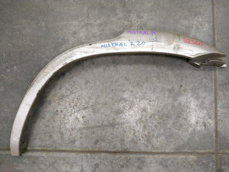 Накладка на крыло Nissan Mistral R20 задняя левая 93829-1F100 RL