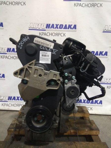 Двигатель Volkswagen Golf 1K1 BVY 2003 052571, 06F100034E 2.0Л. 16V BVY № 052571 FSI 2006 г.в. пробег 108 т.км. ХТС. Без