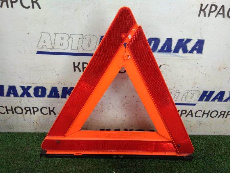 Знак аварийной остановки Honda Cr-V RD1 B20B 1995 штатный знак аварийной остановки