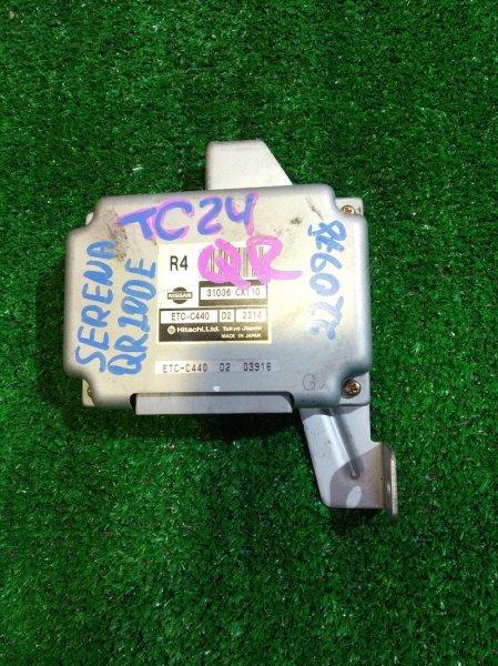 Блок управления Nissan Serena TC24 QR20DE 31036-CX110 УПРАВЛЕНИЕ КПП