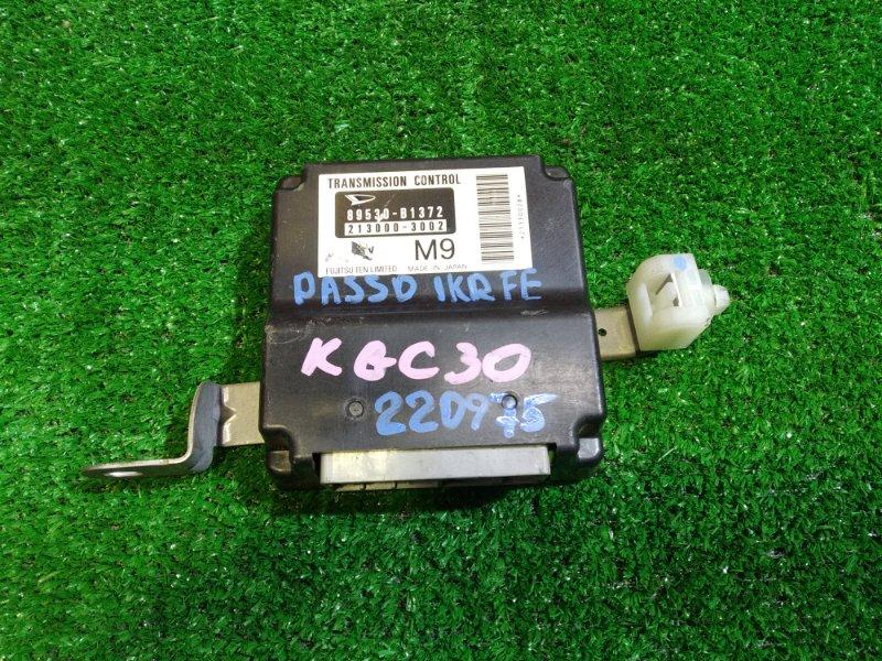 Блок управления Toyota Passo KGC30 1KR-FE 89530-B1372, 213000-3002 УПРАВЛЕНИЕ КПП