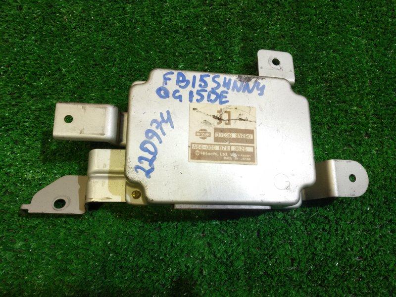 Блок управления Nissan Sunny FB15 QG15DE 31036-8N200 УПРАВЛЕНИЕ КПП