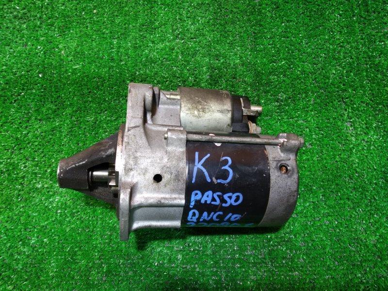 Стартер Toyota Duet M101 K3-VE 28100-97401, 228000-9252, PASSO QNC10