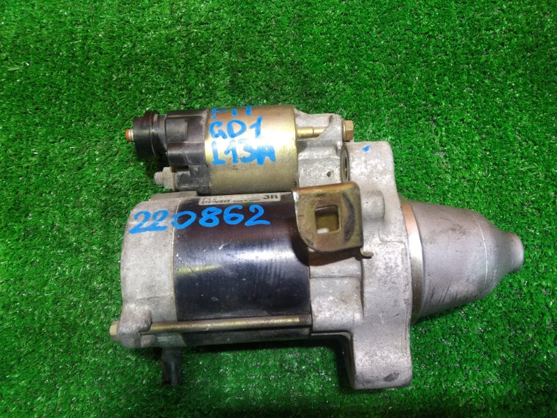 Стартер Honda Fit GD1 L13A DDVDR, 428000-0350, FIT GD1