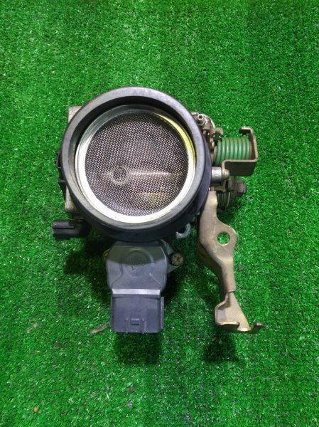 Заслонка дроссельная Nissan Cube AZ10 CGA3DE 16119-AN205 ДПДЗ НА 1 ФИШКУ, В СБОРЕ,