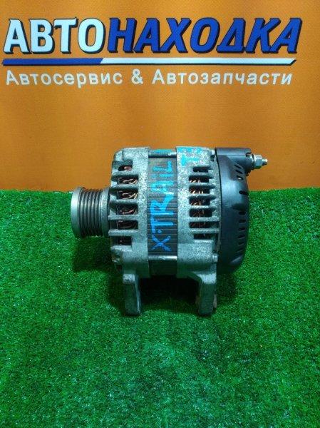Генератор Nissan Lafesta B30 MR20DE 23100-EN00B, LR1140-802E, 3 КОНТАКТА, ОВАЛЬНАЯ ФИШКА. С ОБГОННОЙ