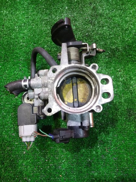Заслонка дроссельная Toyota Bb QNC21 3SZ-VE МЕХ, ДПДЗ 89452-97401, ДХХ 22270-97401