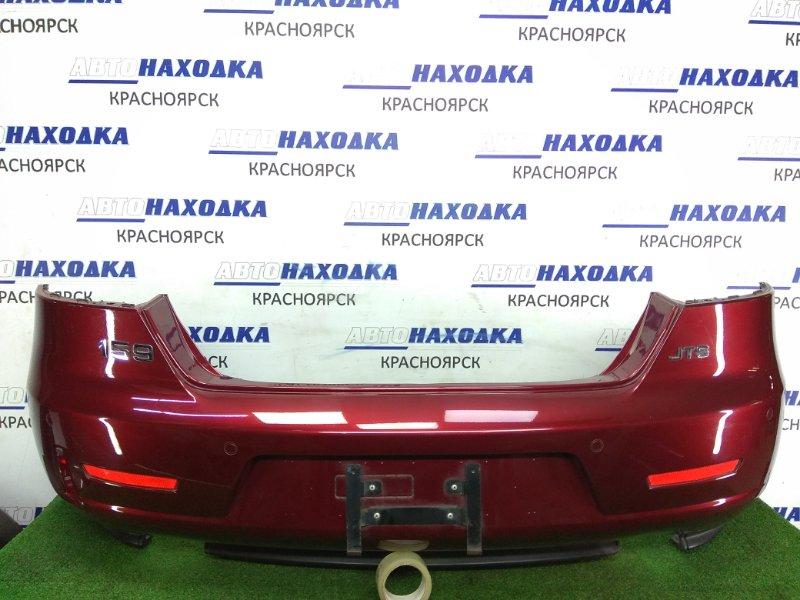 Бампер Alfa Romeo 159 939A 939 A6.000 2005 задний 156043695 Задний, бордовый, седан, катафоты, сонары,