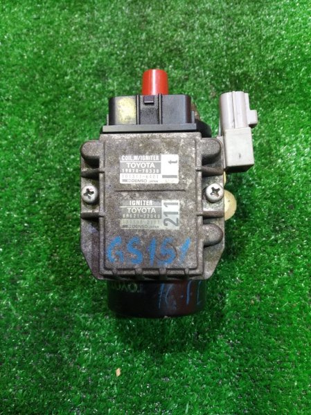 Катушка зажигания Toyota Mark Ii GX90 1G-FE 19500-70010 +КОММУТАТОР 19070-70330, CROWN GS151,