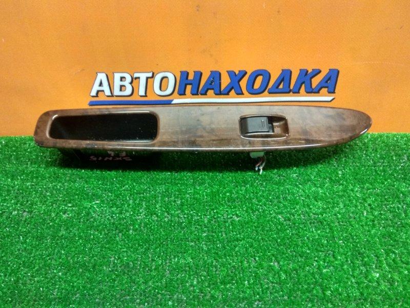 Кнопка стеклоподъемника Toyota Nadia SXN15 3S-FE передняя левая + НАКЛАДКА
