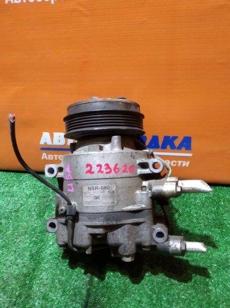 Компрессор кондиционера Honda Mobilio Spike GK1 L15A 2004 nsr-080 2мод