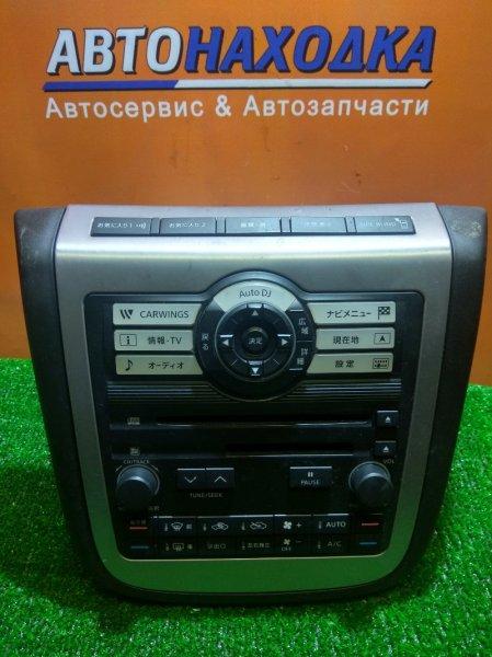 Климат-контроль Nissan Murano TZ50 QR25DE 27760-CB00A +МУЛЬТИМЕДИЯ