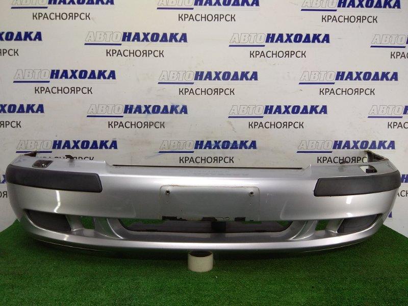 Бампер Volvo V40 VW17 B4204S2 2000 передний 30865537 Передний, серебро, с повторителями, с