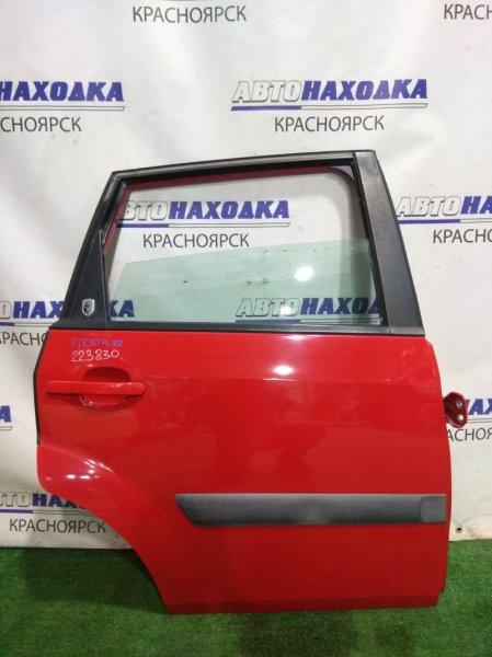 Дверь Ford Fiesta CBK FYJA 2005 задняя правая 1692525, P2S61-A24630-KA RR в сборе. Молдинг 2 мод. ХТС. Мех С/П