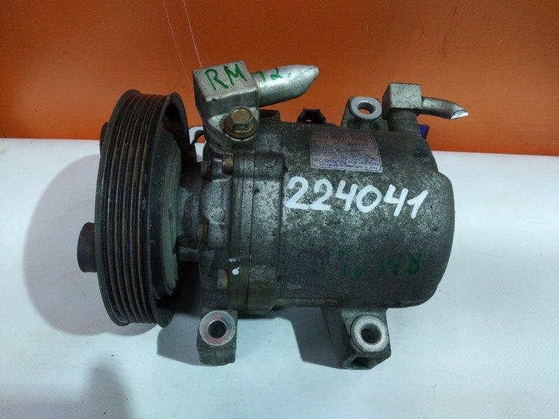 Компрессор кондиционера Nissan Liberty RM12 QR20DE 92600-WF115