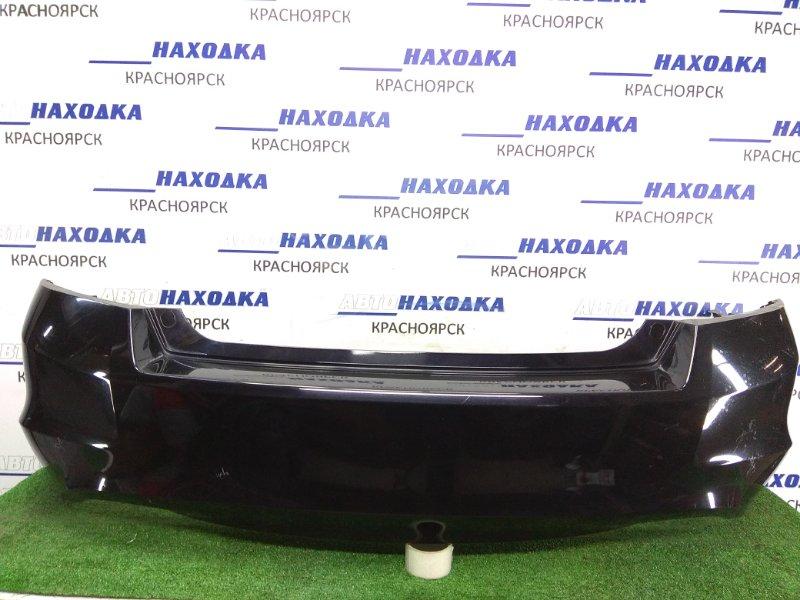 Бампер Honda Inspire CP3 J35A 2007 задний 71501-TA1-ZZ00 Задний, цвет баклажан, потертости, царапинки.