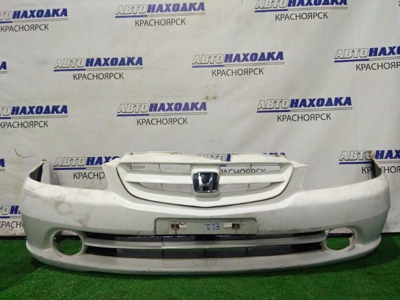 Бампер Honda Orthia EL2 B20B 1999 передний P0527 передний, 2 мод. (рестайлинг) С решеткой, без