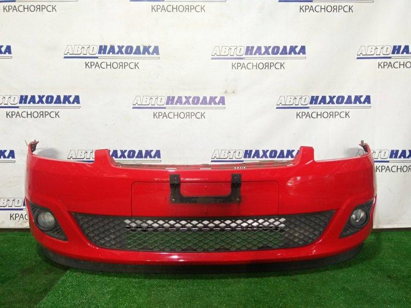 Бампер Ford Fiesta CBK FYJA 2005 передний 1386201, 6S61-17762-BDXWAA передний, 2 мод. (рестайлинг) С