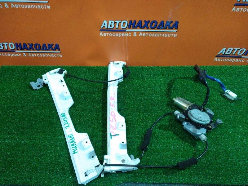 Стеклоподъемник Nissan Murano TZ50 QR25DE передний правый 80730-CA011 6 КОНТАКТОВ