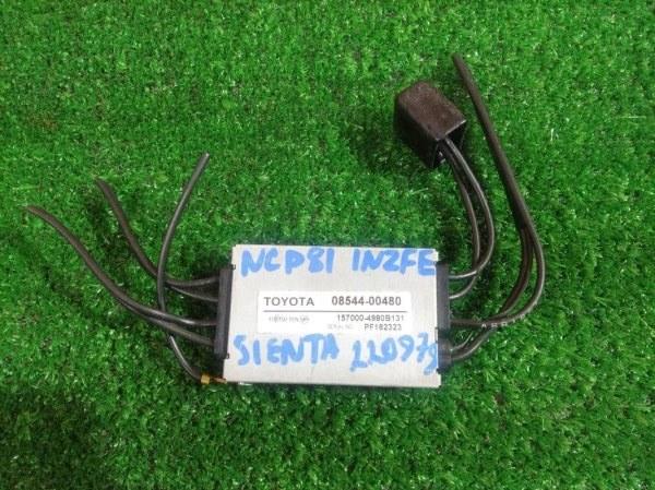 Блок управления Toyota Sienta NCP81 1NZ-FE 08544-00480 TV-ТЮНЕР