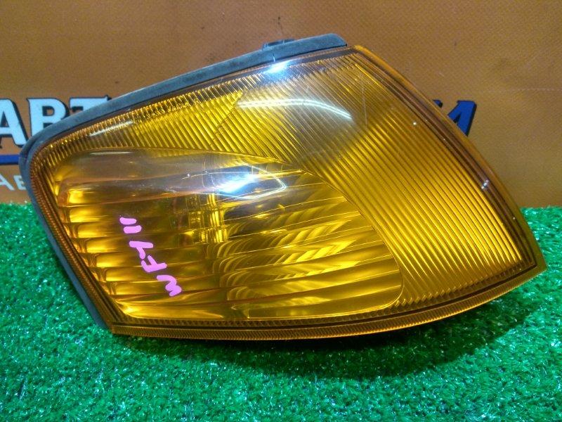 Фонарь габаритный Nissan Wingroad WFY11 QG15DE правый 3433 ОРАНЖЕВЫЙ