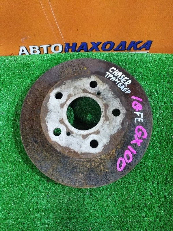 Диск тормозной Toyota Mark Ii LX90 2L-TE передний RN1499V Ф255, T21.5, 5 ШПИЛЕК, CHASER GX100,