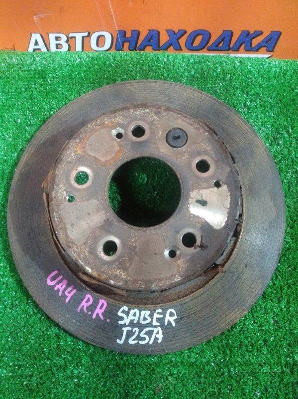 Диск тормозной Honda Saber UA4 J25A задний ---------- Ф282, T9, CD65, H55, 5*114.3, НЕ ВЕНТ,