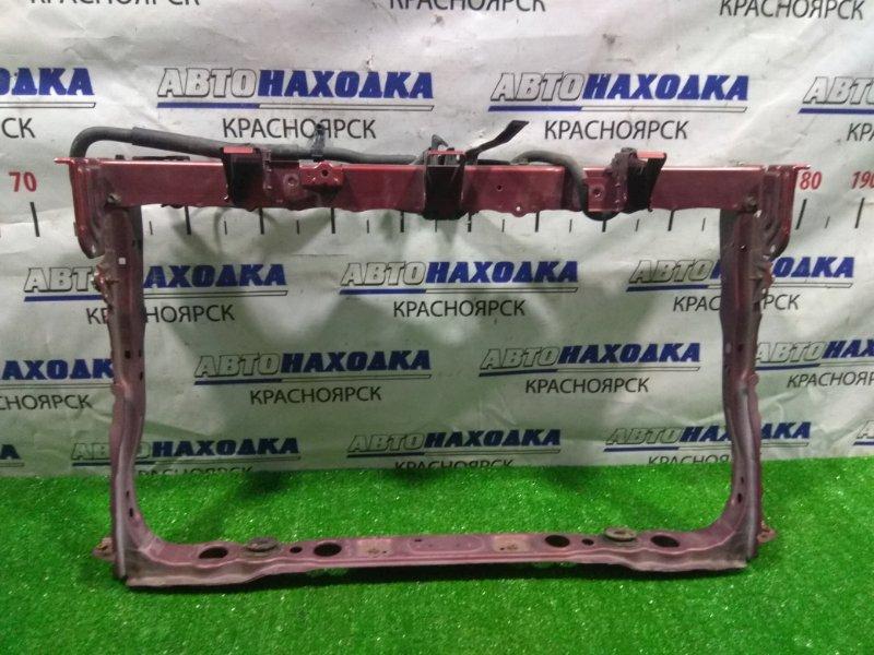 Рамка радиатора Toyota Corolla Rumion ZRE152N 2ZR-FE 2007 передняя 53201-12905 с замком капота