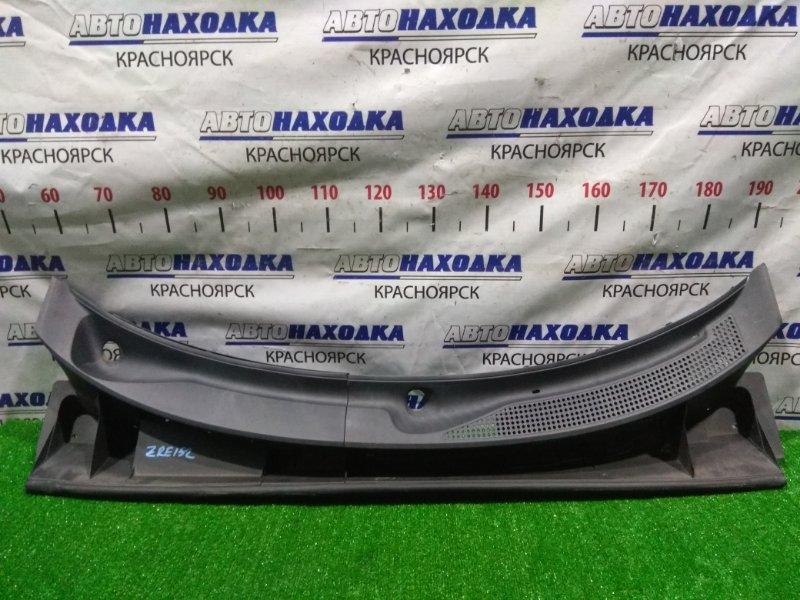 Ветровая панель Toyota Corolla Rumion ZRE152N 2ZR-FE 2007 5570912150, 5570812380 из двух частей.