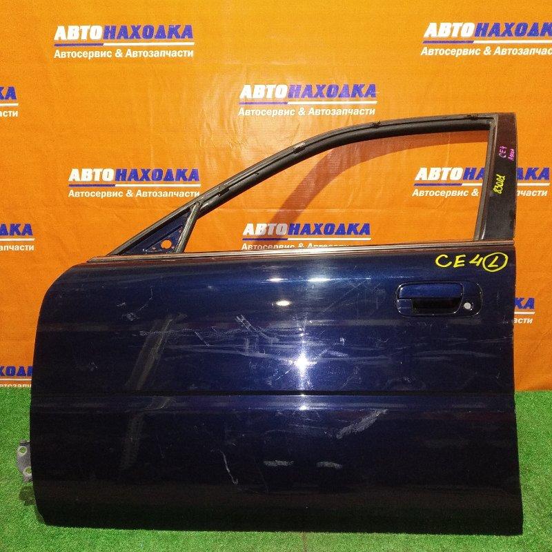 Дверь Honda Ascot CE4 G20A передняя левая
