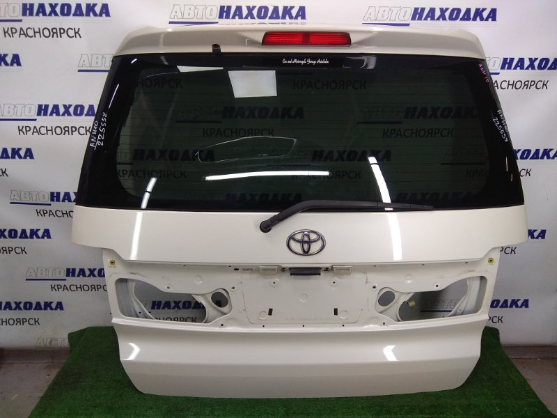 Дверь задняя Toyota Alphard ANH10W 2AZ-FE 2002 задняя задняя, ХТС, белый перламутр, без фонарей и