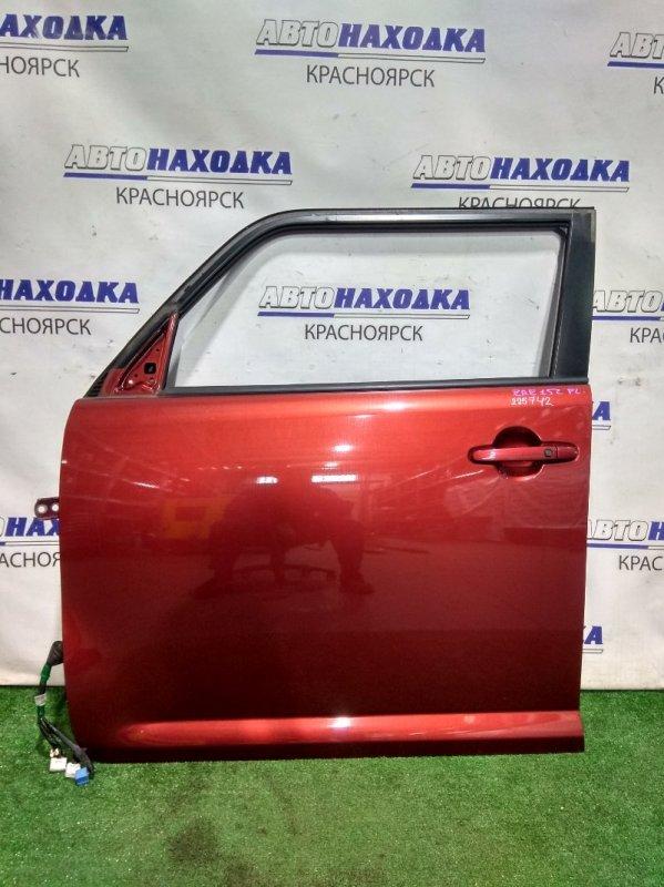Дверь Toyota Corolla Rumion ZRE152N 2ZR-FE 2007 передняя левая 67002-12A50 FL в сборе. ХТС. Цвет 3R6