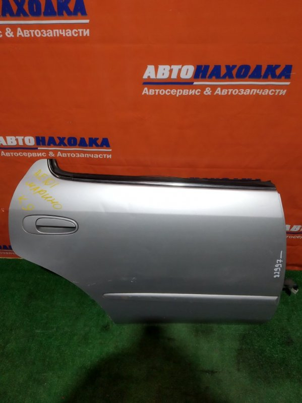 Дверь Toyota Corolla Ceres AE100 5A-FE задняя правая RR серебро